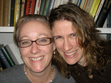 EDCAS Faculty Members Elizabeth Halstead & Sarah Schoen